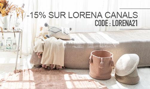 Profitez de -15% sur Lorena Canals
