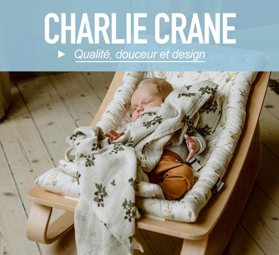 La marque Charlie Crane