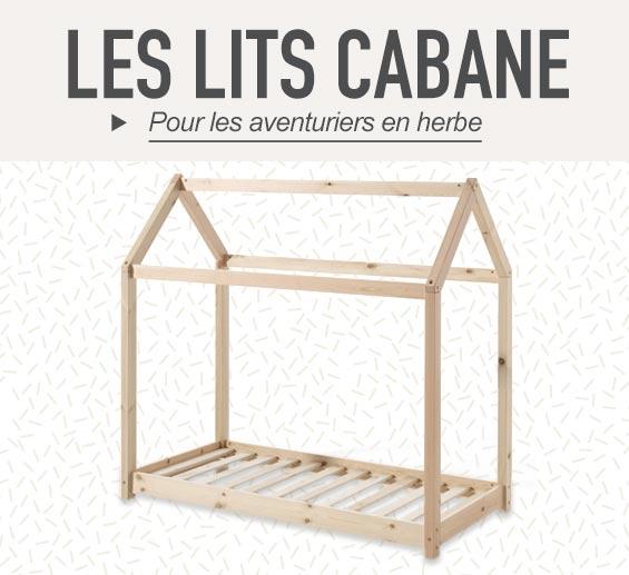 Les lits Cabane
