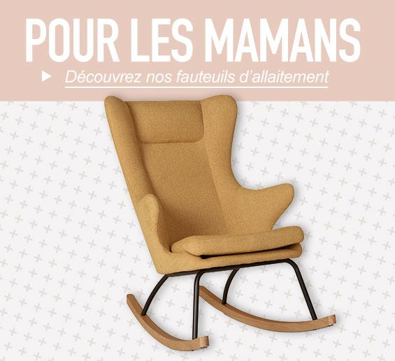 Les fauteuils d'allaitement