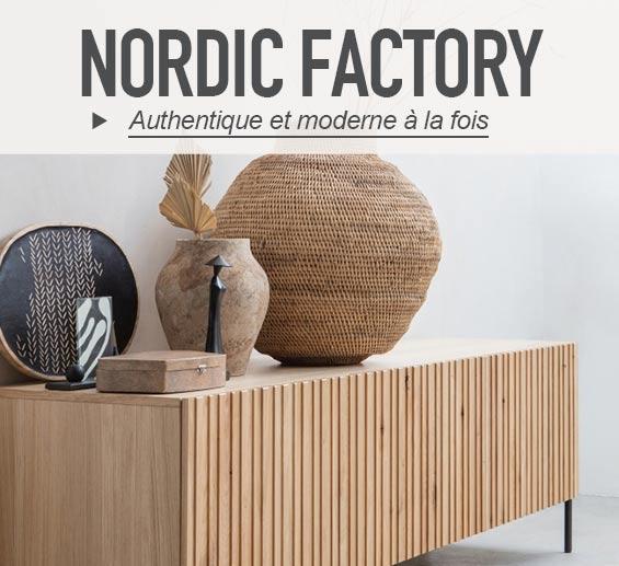 Le mobilier Nordic Factory