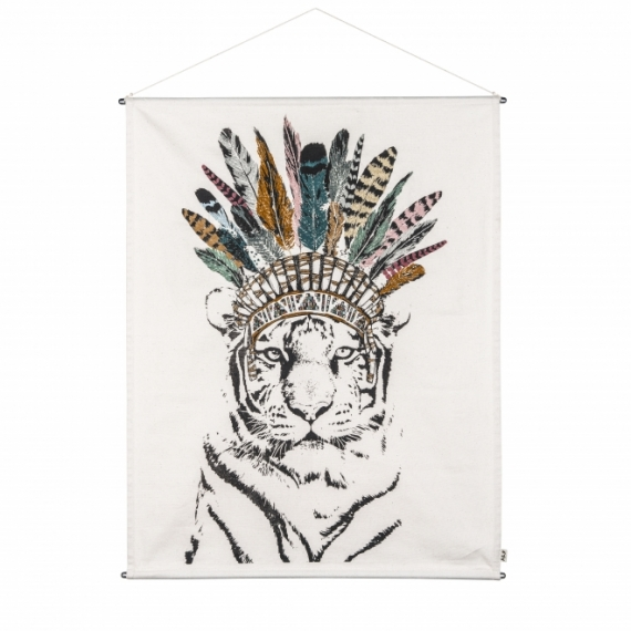 Affiche Tigre Crazy Tiger