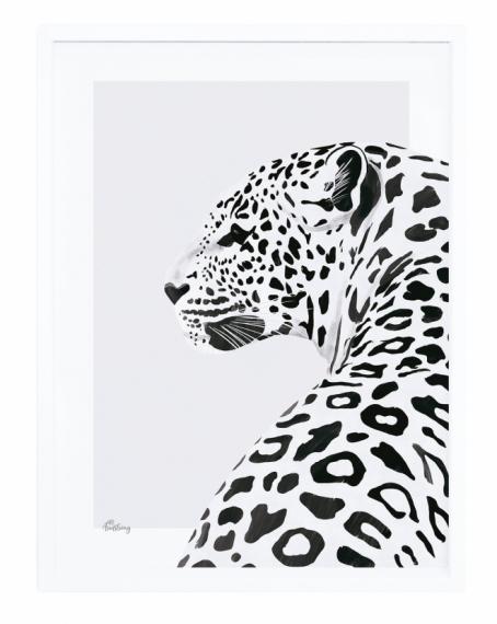 Affiche Encadrée Le Léopard