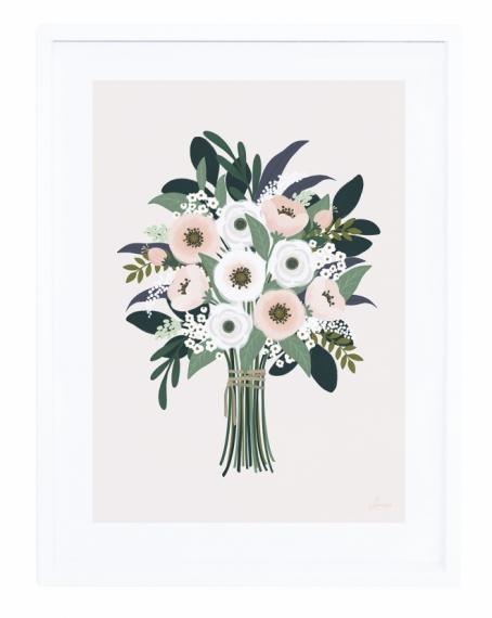 Affiche encadrée Un si joli bouquet
