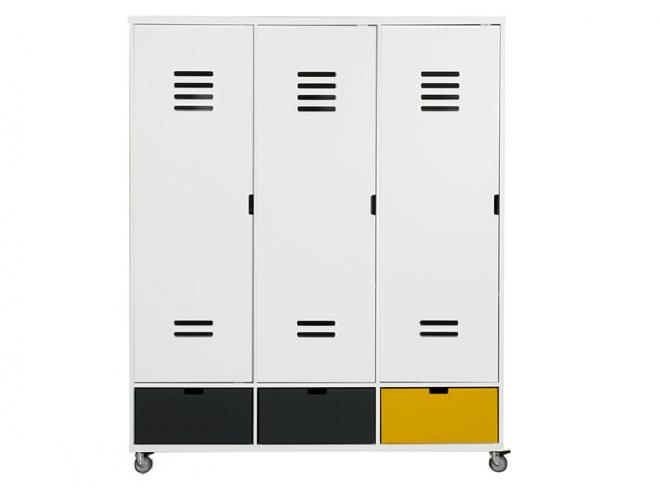 Armoire à roulettes Mix & Match Locker 3 portes