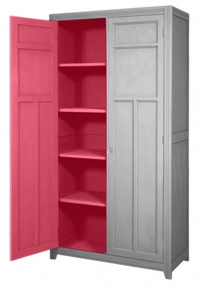 armoire parisienne laurette file dans ta chambre. Black Bedroom Furniture Sets. Home Design Ideas