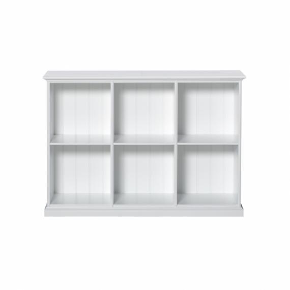 Bibliothèque Basse 6 compartiments Seaside - Oliver Furniture ...