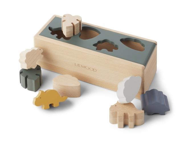Boîte à puzzle Midas Dino