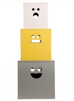 Face Boxes Peintes