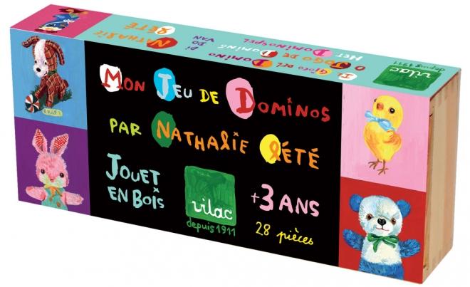 Dominos géants Nathalie Lété