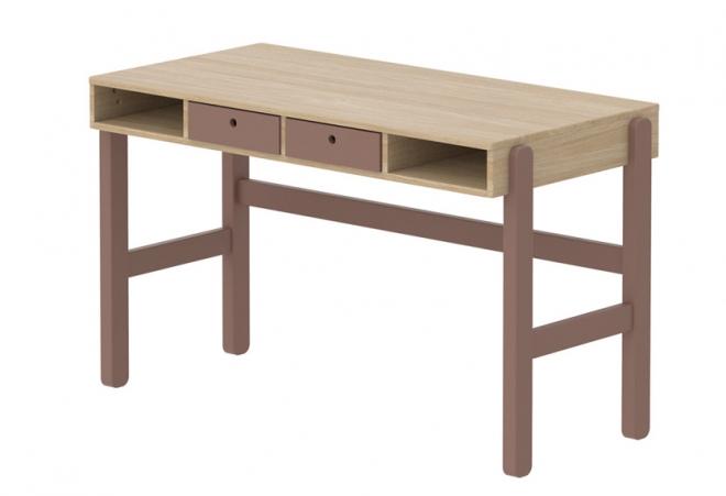 bureau enfant popsicle flexa file dans ta chambre. Black Bedroom Furniture Sets. Home Design Ideas