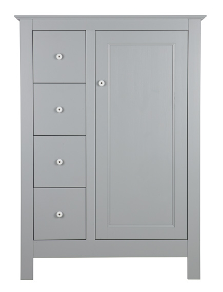 cabinet de rangement marcus nordic factory gris b ton. Black Bedroom Furniture Sets. Home Design Ideas