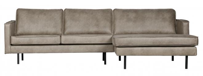 Canapé d'angle Eugène méridienne droite
