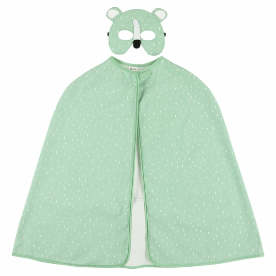 Cape et masque Ours polaire Mr Polar Bear