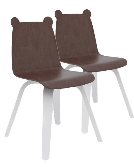 Chaise Ours - Lot de 2