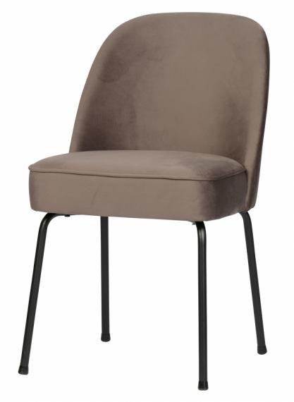 Chaise en velours Vogue