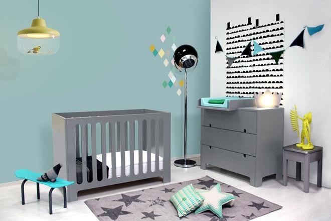 Chambre » Chambre Bébé Gris Clair  1000+ Idées sur la décoration et cadeaux