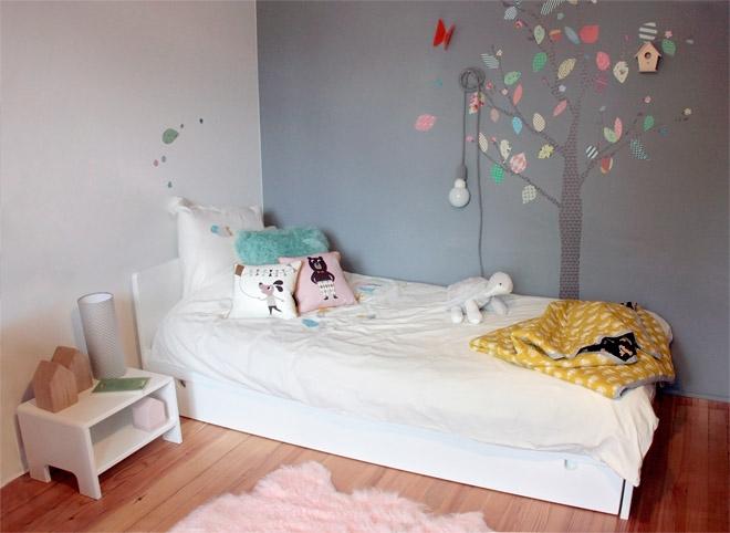 Beautiful Chambre Fille Couleur Pastel Ideas - Seiunkel.us ...