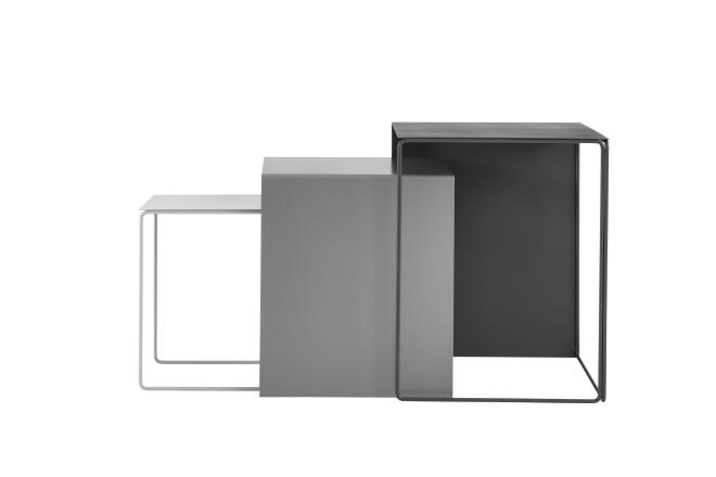 Cluster Tables - Lot de 3