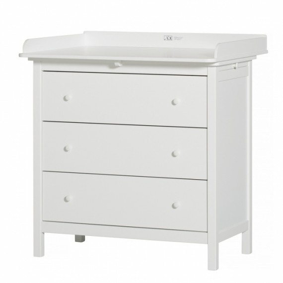 Commode 3 Tiroirs Seaside + plan à langer