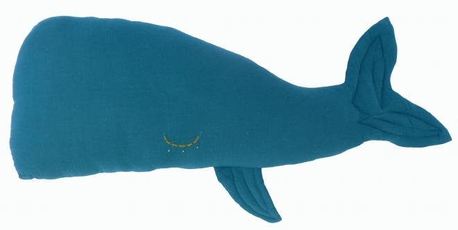 Coussin Camille la baleine