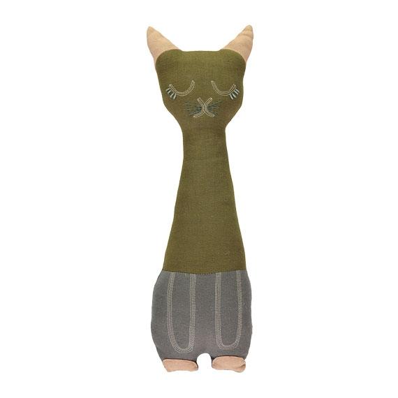 Coussin Doudou Tall Cat