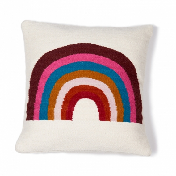 Coussin Rainbow Wool