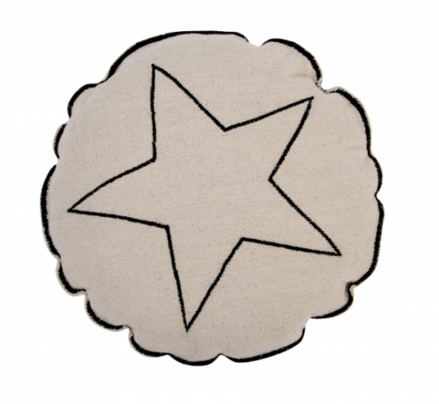 Coussin Round Star