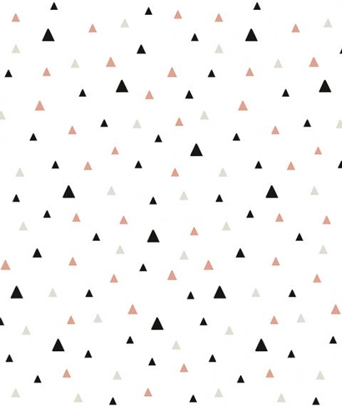 Le De Papier Peint Petits Triangles Lilipinso File Dans Ta Chambre