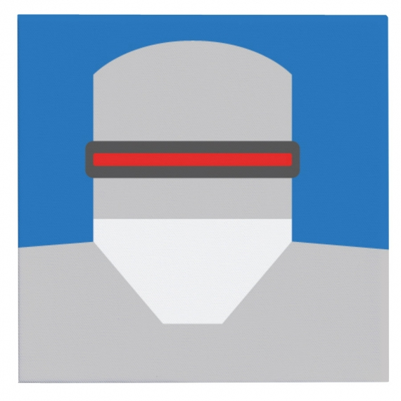 Toile Robocop