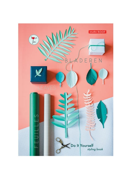DIY Styling Book Leaves