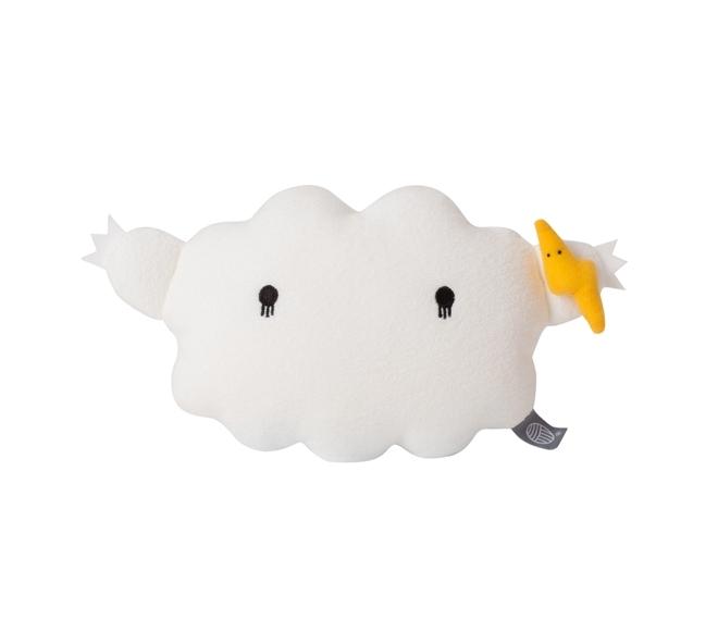 Coussin Cloud M - Blanc