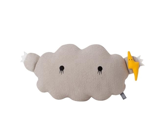Coussin Cloud M - Gris