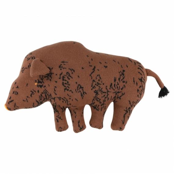 Doudou en tricot Cochon Truffle pig