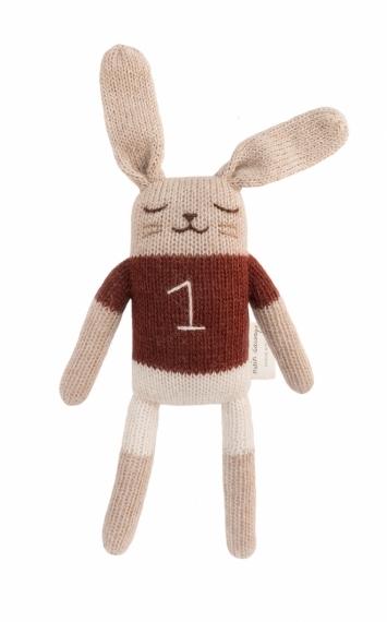 Doudou en tricot Lapin Bunny t-shirt