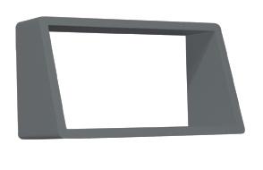 Etagère engagée 45 cm