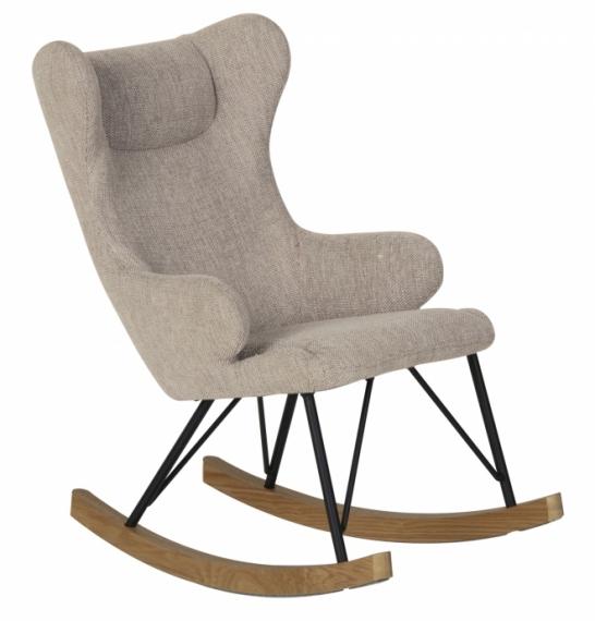 fauteuil rocking chair enfant quax sable gris file. Black Bedroom Furniture Sets. Home Design Ideas