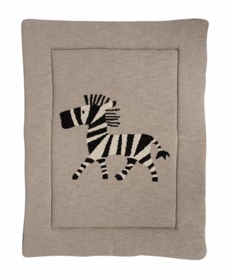 Fond de parc Tricot Zèbre Zebra