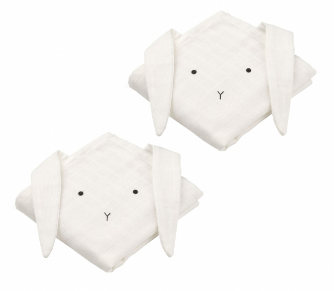 Lange Hannah Rabbit - Lot de 2