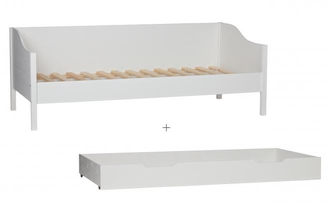 Lit banquette Eliza + tiroir lit