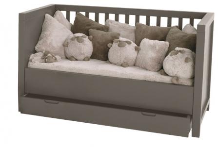 Tiroir lit bébé évolutif Quarré