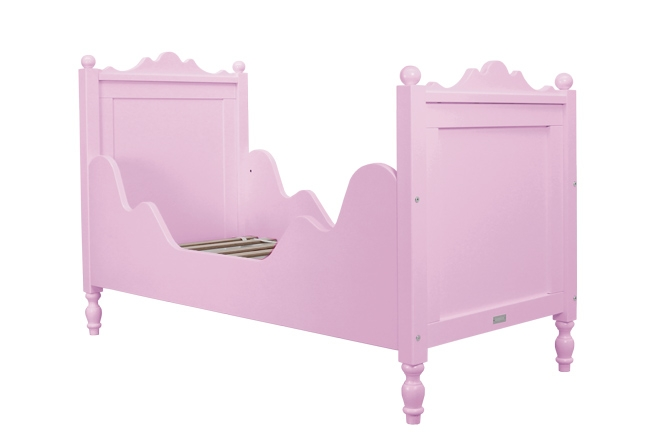 lit junior belle 70x150 bopita blanc file dans ta chambre. Black Bedroom Furniture Sets. Home Design Ideas