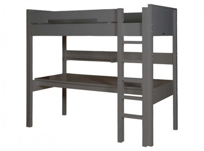 lit mezzanine volutif mix et match 188 bopita blanc file dans ta chambre. Black Bedroom Furniture Sets. Home Design Ideas
