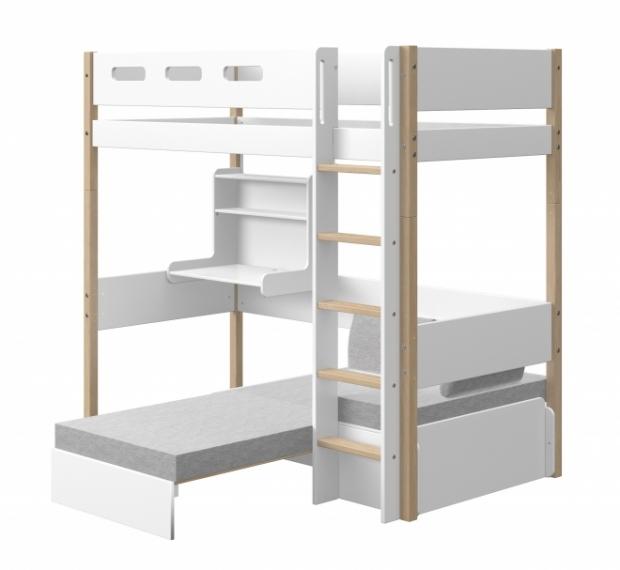 Lit mezzanine évolutif Casa Nor 90x190