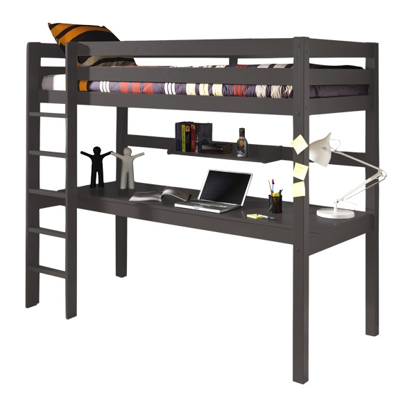 lit mezzanine wild bureau nordic factory taupe file dans ta chambre. Black Bedroom Furniture Sets. Home Design Ideas