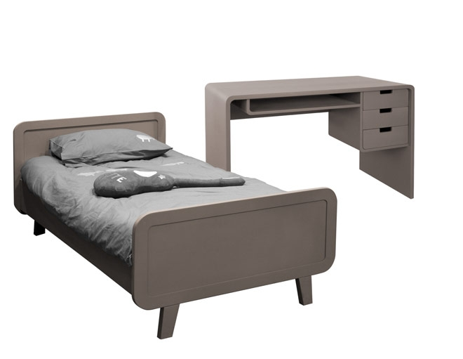 special rentree lit bureau laurette laurette taupe file dans ta chambre. Black Bedroom Furniture Sets. Home Design Ideas