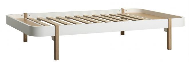 Lit Wood Lounger 120x200