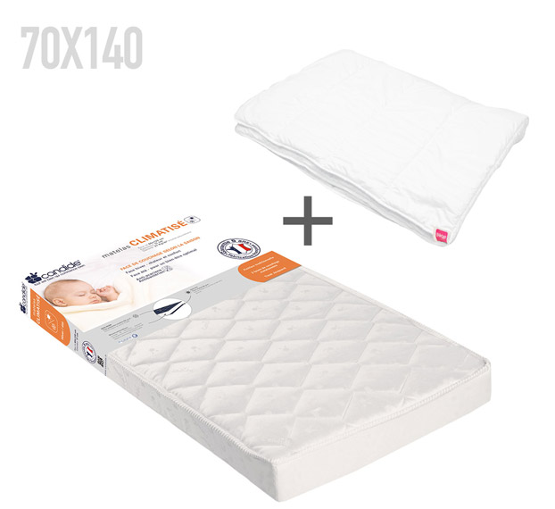 pack literie climatis 140 matelas couette candide file dans ta chambre. Black Bedroom Furniture Sets. Home Design Ideas