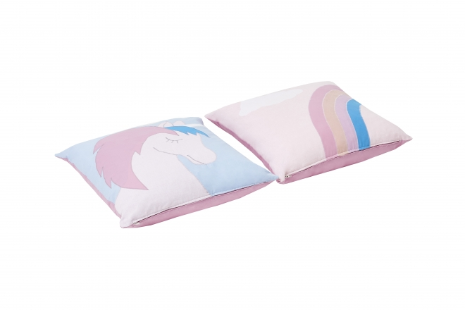Lot de 2 coussins Licorne Basic Hoppe
