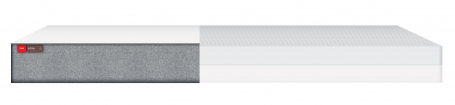 Matelas Latex 90x190x12 + housse coton